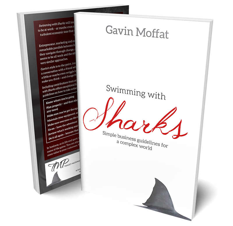 Swimming with Sharks Book